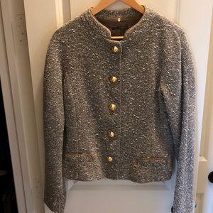 Tahari Brown Tweed Jacket
